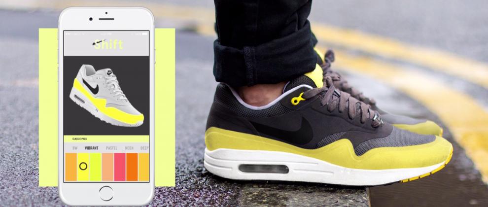 Les Sneakers Shift et l'appli connectée